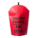 30 LB HD EXTINGUISHER COVER, BILINGUAL_B