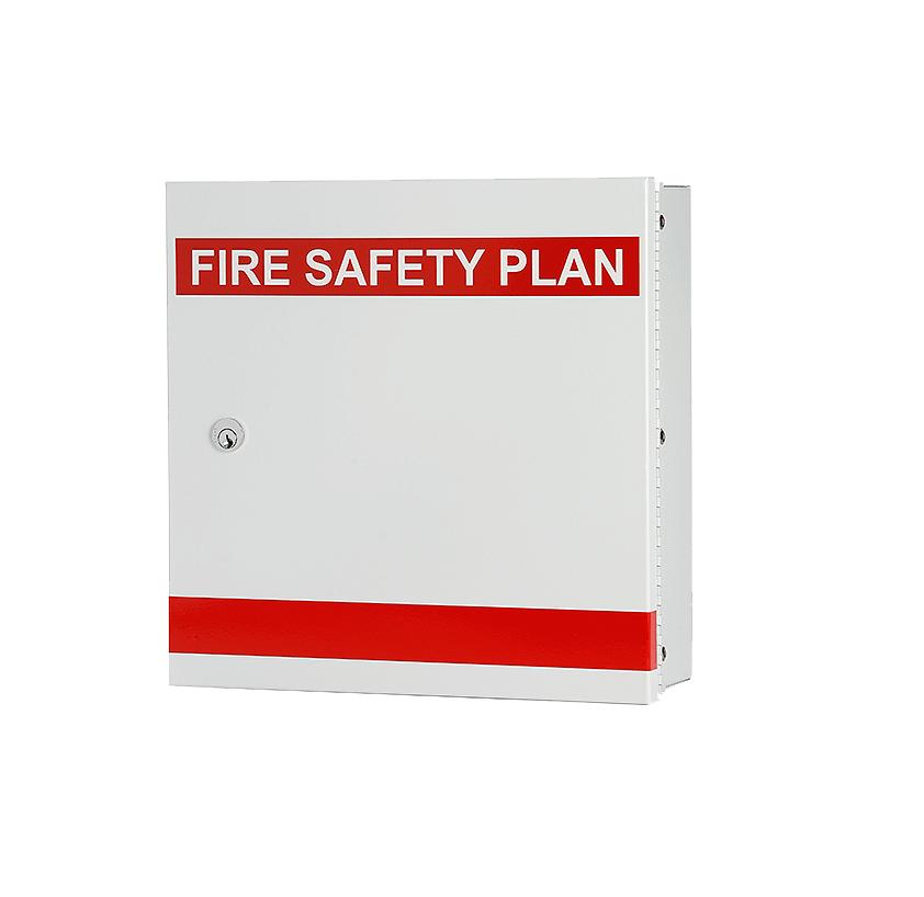 FIRE SAFETY PLAN BOX, MIKOR LOCK_WIL_FSP