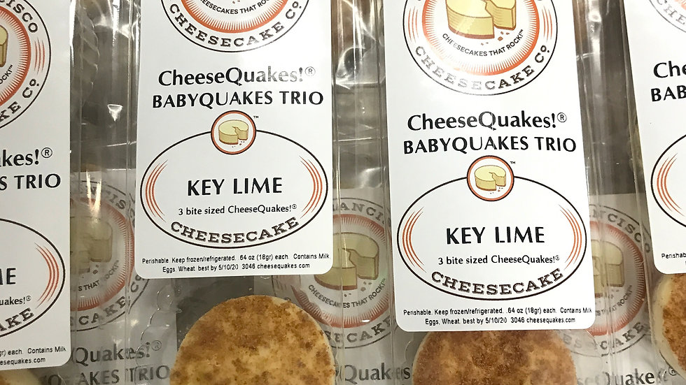 Key Lime BabyQuake Trio