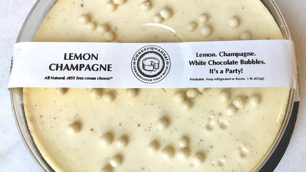 """Lemon Champagne - 6"""" Small Party (2-4)"""