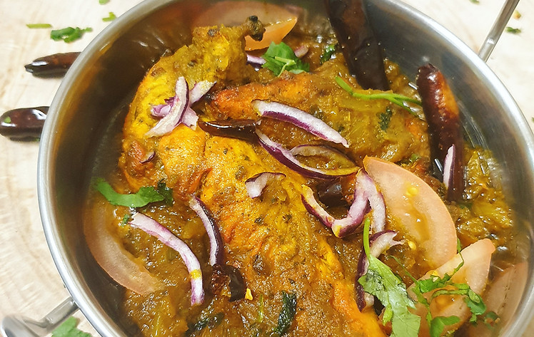 BABA's Chicken JHAL!