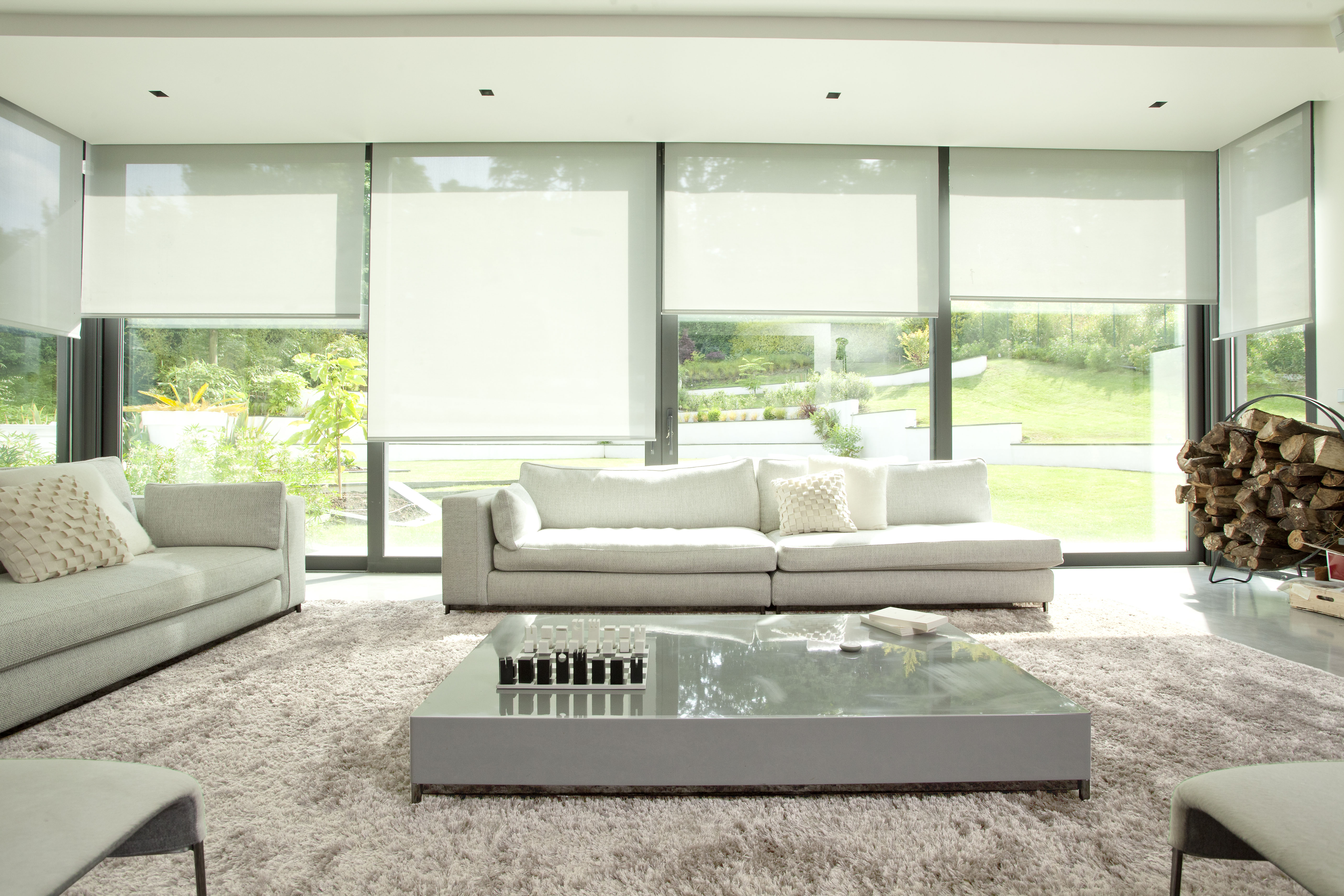 Wire Free Roller Blind