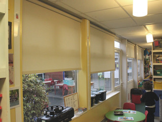 New Child Safe Blinds for Foundation Class at Carnarvon Primary School Bingham.
