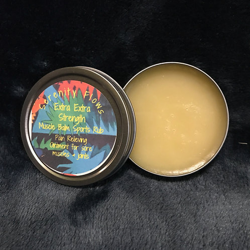 Extra Extra Strength Muscle Balm Sports Rub