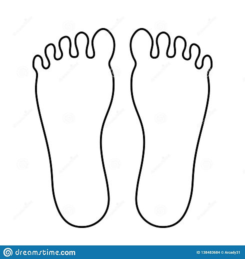 human-foot-outline-icon-human-foot-outli