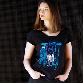 BLUE BIRD - Femme, manches courtes