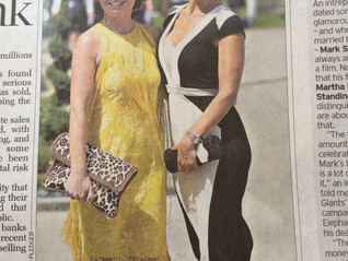 Telegraph Saturday 7th June 2014. Ladies day Epsom Oakes day.