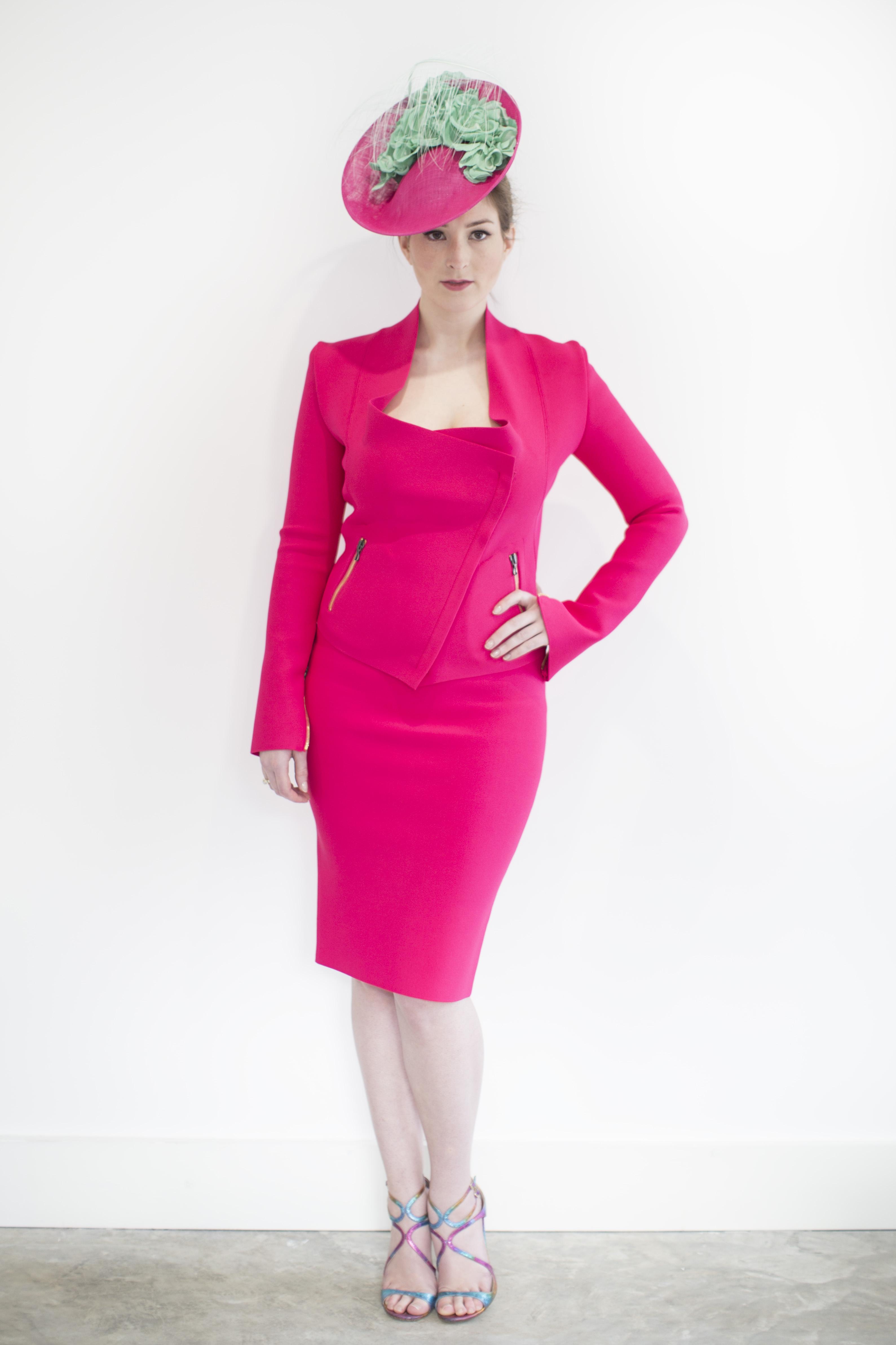 pink & green nancy
