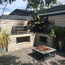 Ipe Outdoor Kitchen