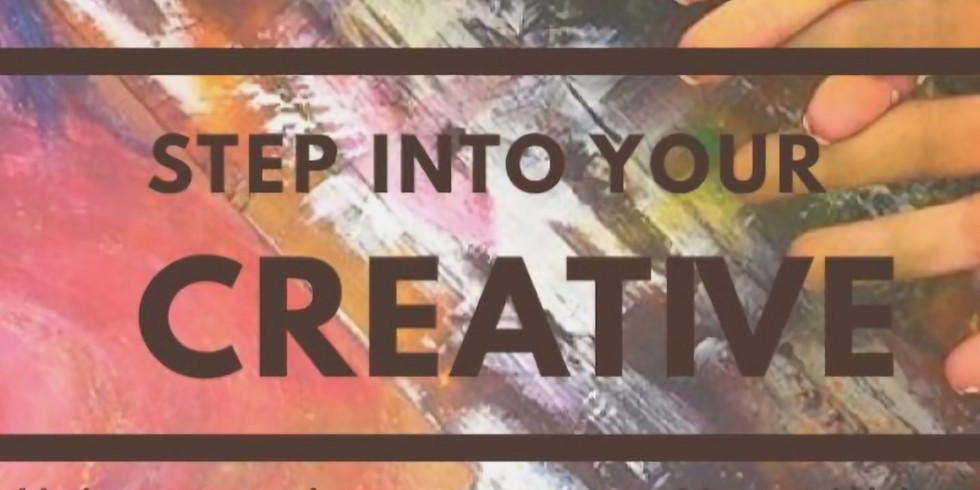 Step into your creative (Adult Class)
