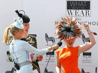 """Best dressed lady """"Oaks day"""" Epsom Downs"""" 31st May 2013"""