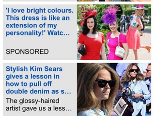Laylaleigh in the Daily Mail at Royal Ascot