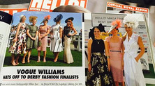 "Laylaleigh wins ""Hello magazine best dressed"" at Investec Oaks day"