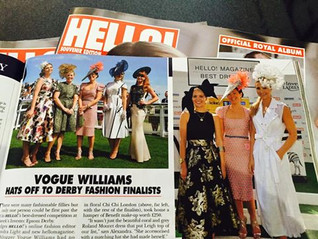 """Laylaleigh wins """"Hello magazine best dressed"""" at Investec Oaks day"""