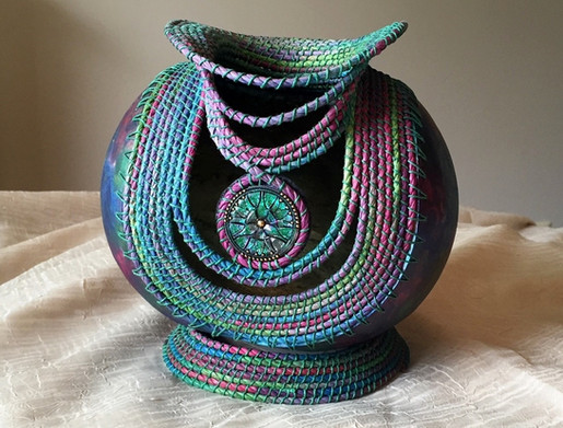 Pastel Coiling