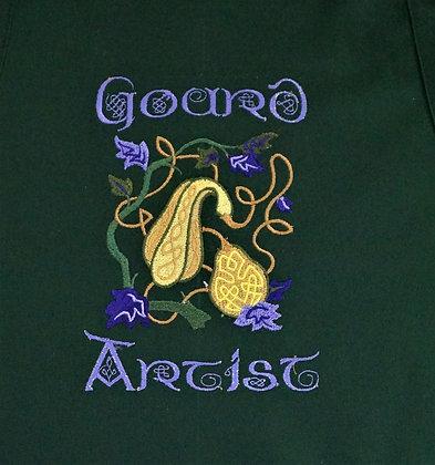 Green Gourd Artist Apron