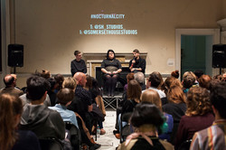 CROWD AND SPEAKERS_Nocturnal City_Somerset House Studios29