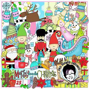 MJM Design Studios Merry Doodle Christma