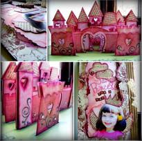 MJM Design Studios Fairy Castle pop up