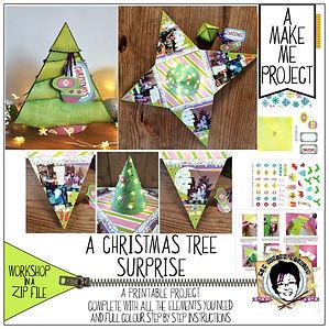 MJM Design Studios A Christmas tree surp