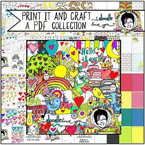 MJM Design Studios I doodle love you Pri