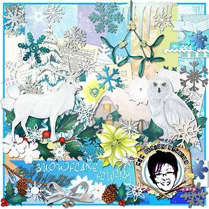 MJM Design Studios - Snowflake flurry ki