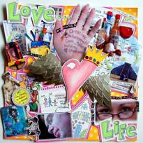MJM Design Studios Love Life collage