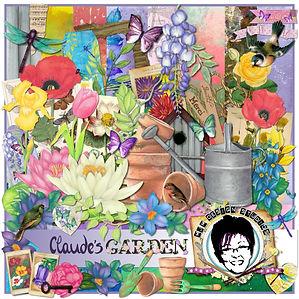 MJM Design Studios Claude's Garden craft