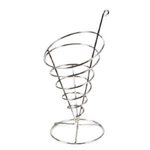 Soporte Cono Espiral INOX
