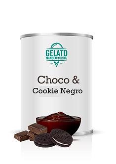 Variegato Choco & Cookie Negro