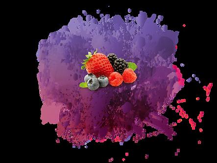 Toppingcream Frutos del bosque