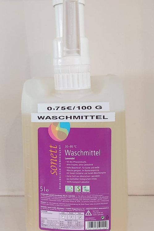 Sonett Flüssigwaschmittel Lavendel