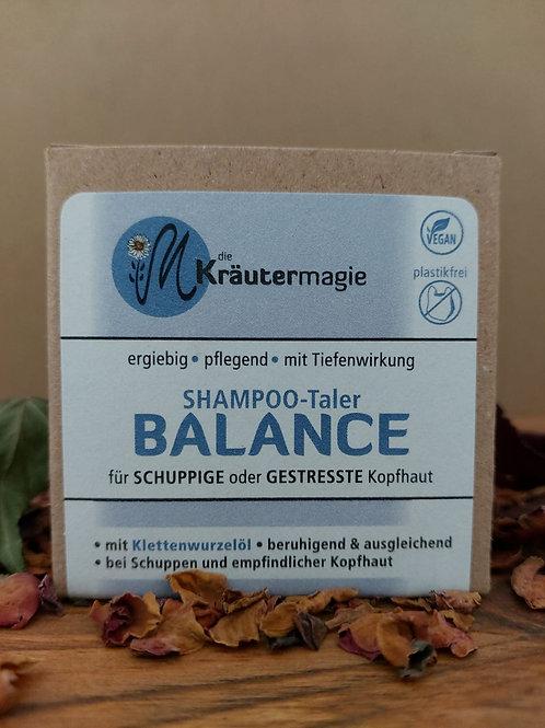 Shampoo-Taler Balance