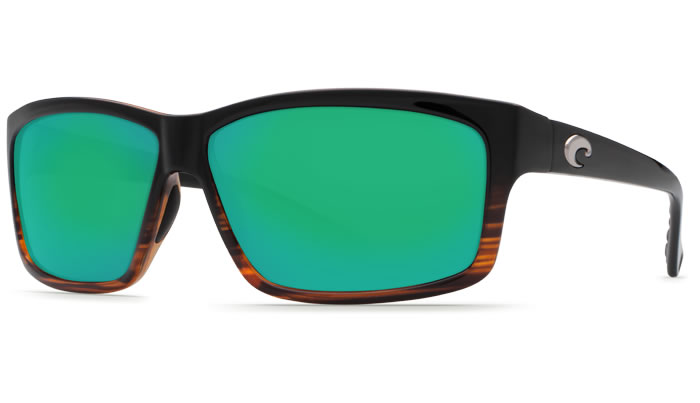 Costa-Del-Mar-Cut-580G-Polarized-Sunglasses-Coconut-Fade-Frame-and-Green-Mirror-
