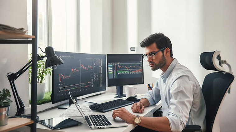 bigstock-Busy-Working-Day-Young-Bearde-2