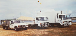 The start of Allens Freight