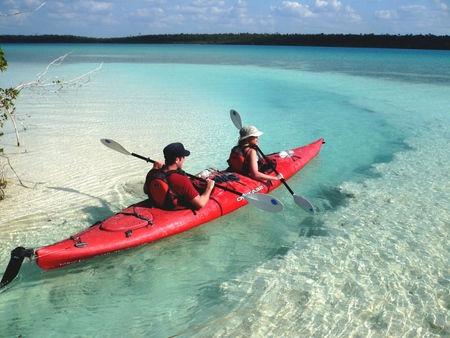 Bacalar Mexico Lagoon