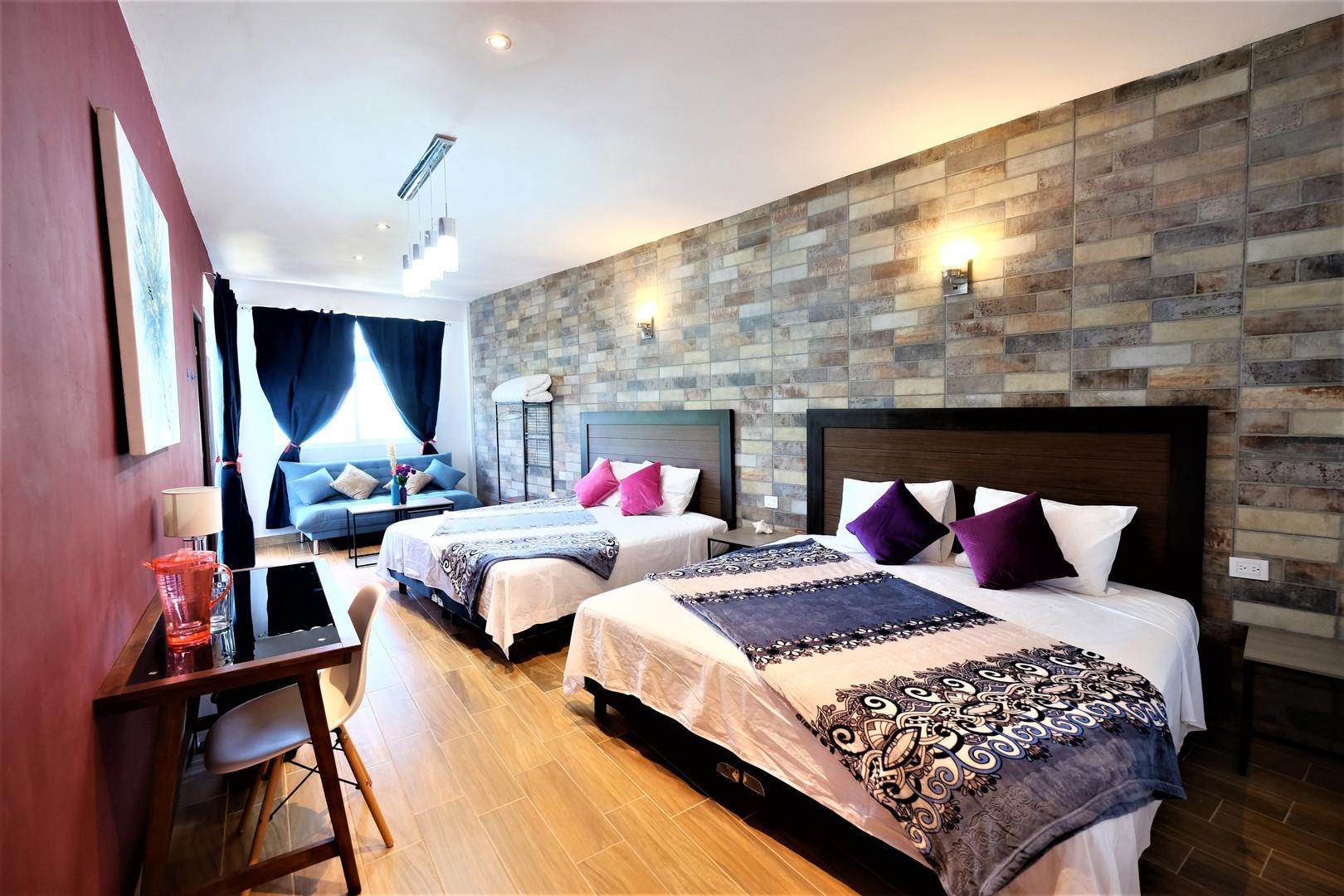 Habitación Alojamiento en Bacalar Sunrise Villa
