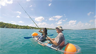 Kayak en Laguna de 7 colores Bacalar