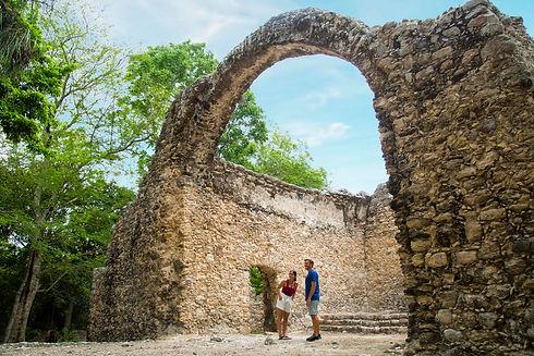 Zona Arqueológica Oxtankah