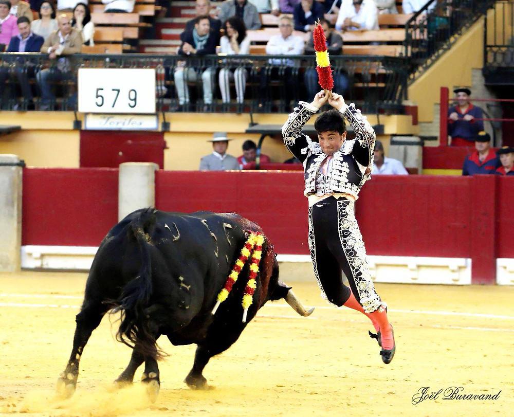 Imanol Sánchez en una de sus actuaciones en Zaragoza