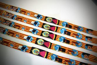 Sorteamos 10 pulseras con ilustraciones de las Tauromaquias de Aragón.