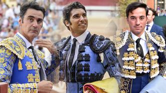 Jesulín, Cayetano e Imanol Sánchez en Calatayud