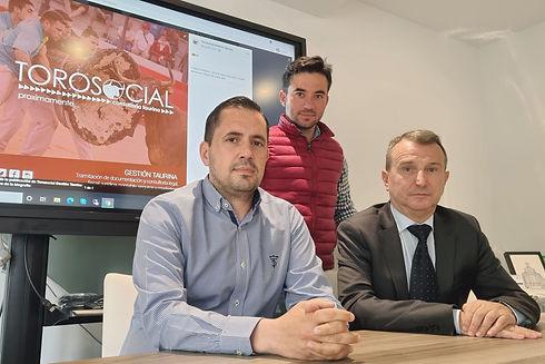 Imanol Sánchez, Alberto Joven y José Ant