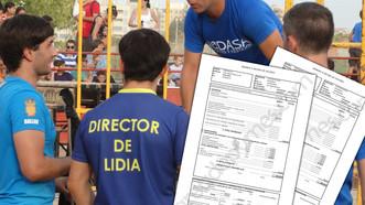 Los honorarios de los Directores de Lidia NO varían en función de su categoría