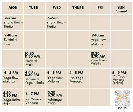 The Nomadic Oasis Studio Schedule.png