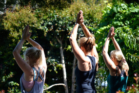 Yoga at The Pottery, Garden Route, South Africa