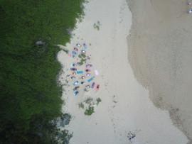 Yoga on Wilderness Beach, South Africa