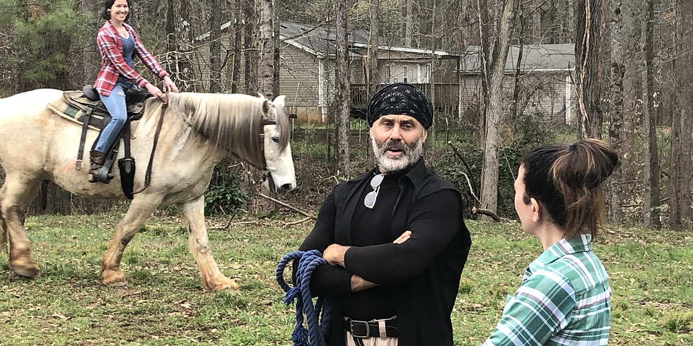 Horseback Riding Sat 4/17: An Introduction to Horses for Actors