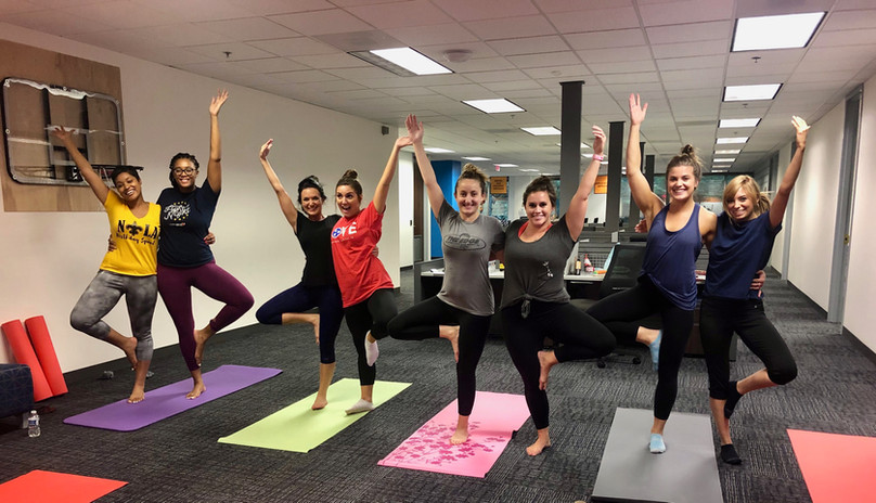 After work yoga!